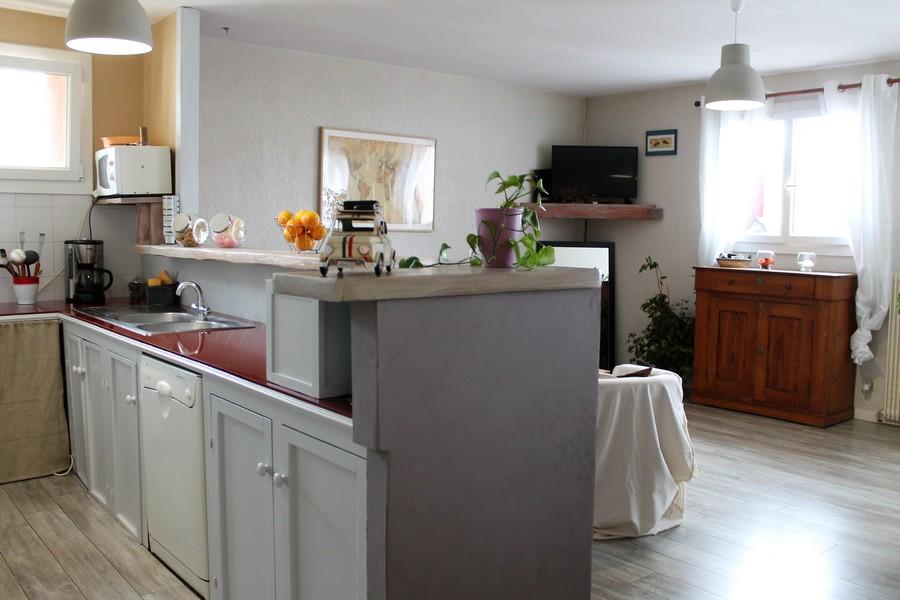 4--vue séjour cuisine Après